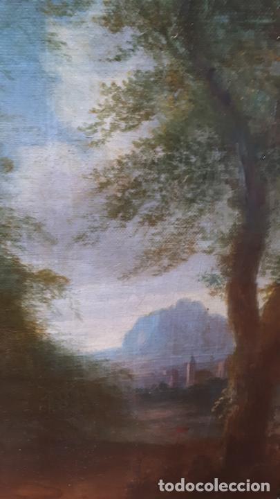 Arte: LA SAMARITANA, ÓLEO, FRANCIA, SIGLO XVIII. - Foto 11 - 207919778