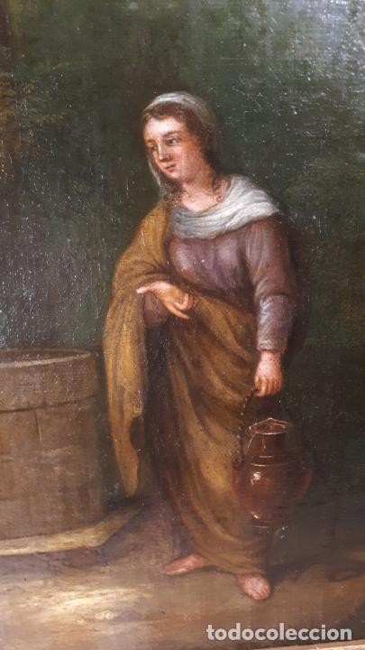 Arte: LA SAMARITANA, ÓLEO, FRANCIA, SIGLO XVIII. - Foto 13 - 207919778