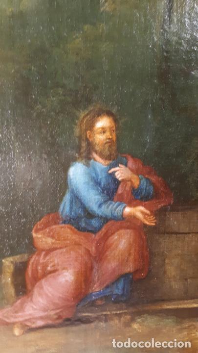 Arte: LA SAMARITANA, ÓLEO, FRANCIA, SIGLO XVIII. - Foto 14 - 207919778