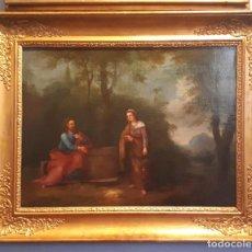 Arte: LA SAMARITANA, ÓLEO, FRANCIA, SIGLO XVIII.. Lote 207919778