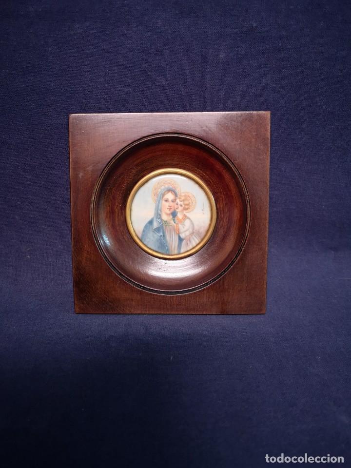 MINIATURA EUROPEA (Arte - Pintura - Pintura al Óleo Antigua sin fecha definida)