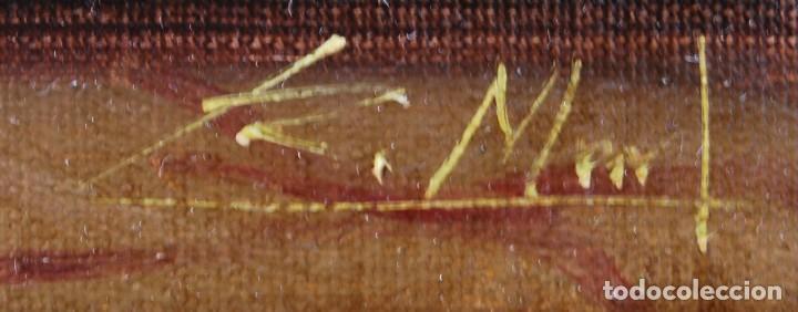 Arte: Roberto Michel - Barcelona 1.959 - NATURALEZA MUERTA - Óleo - Enmarcado - Foto 9 - 208140497