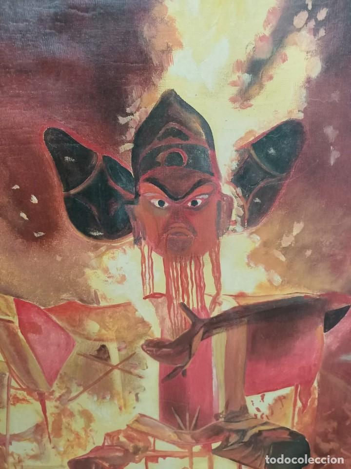 Arte: GRAN Y Espectacular oleo firma el Artista M Bueno 1981 - Foto 2 - 208146980