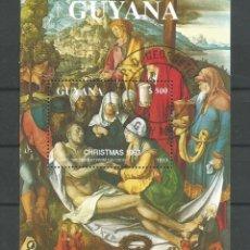 """Arte: GUYANA.. PINTURA DE ALBERTO DURERO """"LAMENTACIÓN PARA CRISTO. H. B. USADA. Lote 208183641"""