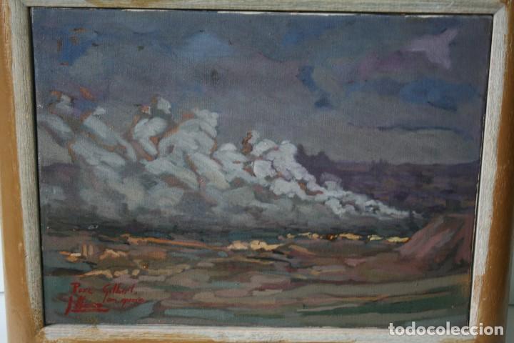 Arte: ILEGIBLE, OLEO SOBRE TELA, FIRMADO Y DEDICADO. - Foto 6 - 208184452