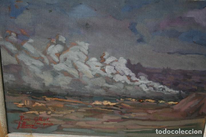 Arte: ILEGIBLE, OLEO SOBRE TELA, FIRMADO Y DEDICADO. - Foto 7 - 208184452