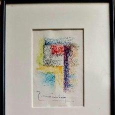 Arte: ABSTRACTO MINIATURAS I . R.CIMBRÓN. Lote 208311531