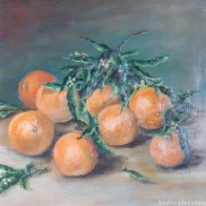 Arte: BODEGÓN DE NARANJAS POR JOSE LLANAS SENESPLEDA (1867-1965). Lote 208488573