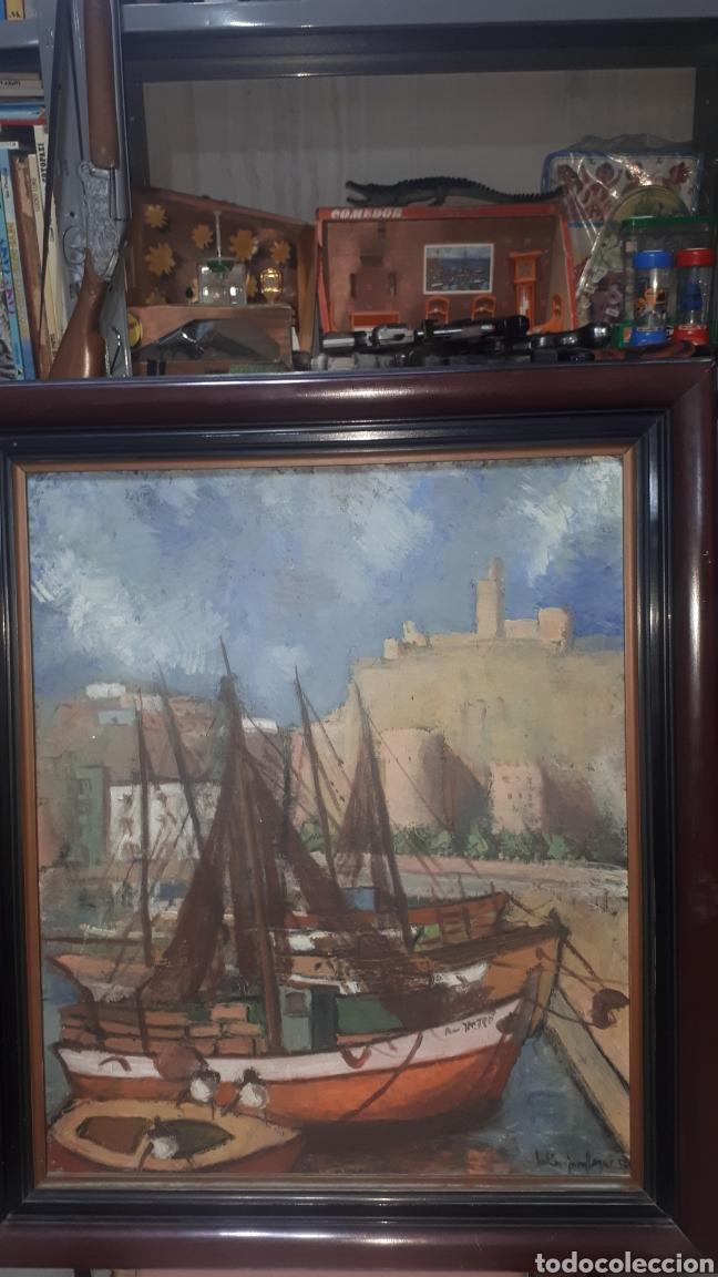 OLEO FIRMADO 1957 (Arte - Pintura - Pintura al Óleo Moderna siglo XIX)