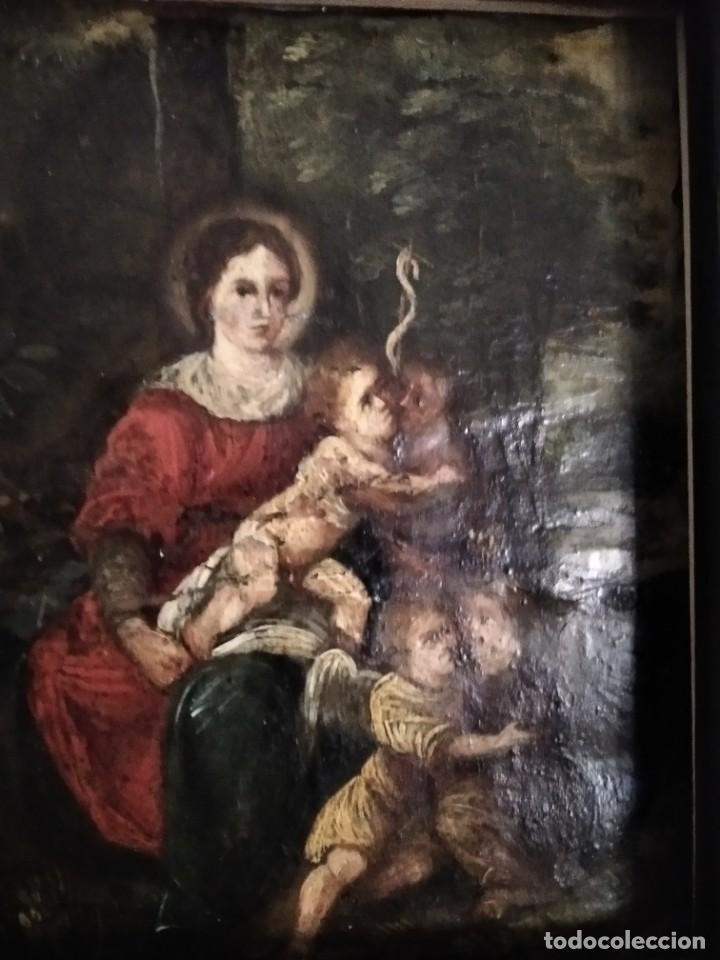 Arte: Pintura española. Óleo sobre cobre. SS.XVII-XVIII. - Foto 4 - 208758097