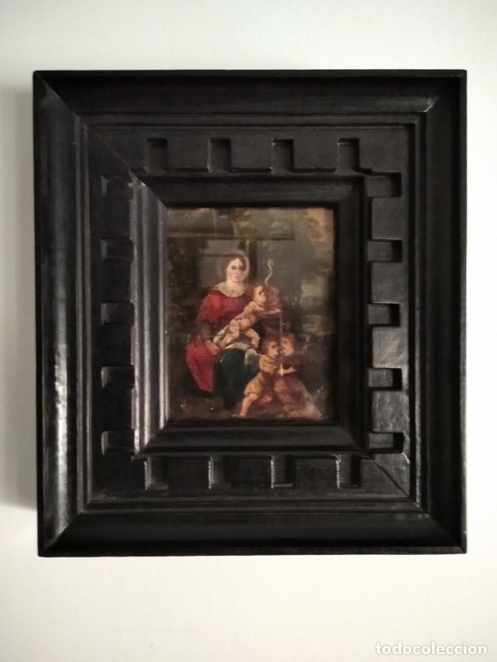 Arte: Pintura española. Óleo sobre cobre. SS.XVII-XVIII. - Foto 6 - 208758097