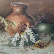 Arte: HERMOSO BODEGÓN DE FLORES. Lote 208848733