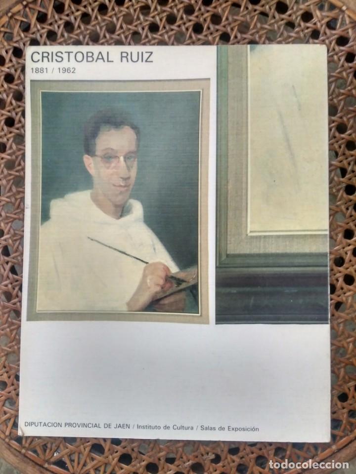 Arte: CRISTÓBAL RUIZ (VILLACARRILLO, JAÉN, 1881-MÉXICO, 1962) DESNUDO EN FONDO AZUL - OBRA ORIGINAL - 1951 - Foto 22 - 208937087