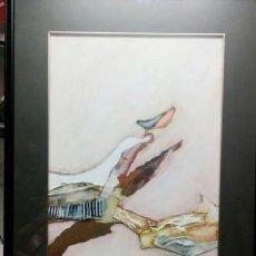 Arte: 2 CUADROS T. DOMINGO. ARTE ABSTRACTO.. Lote 209058596