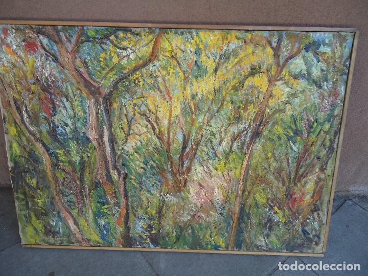 ORIGINAL Y BELLO LIENZO DE IMELDO CORRAL MIDE 100 X 68 CM. IMPRESIONANTE FERROL 1889-1976 (Arte - Pintura - Pintura al Óleo Antigua sin fecha definida)