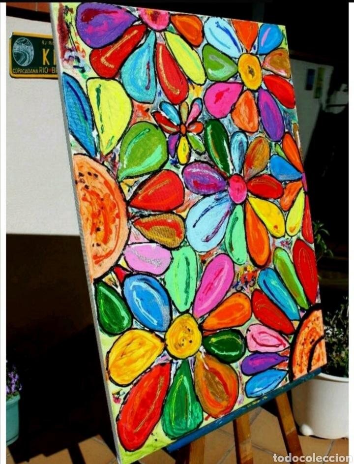 Arte: Cuadro Abstracto Rovira Rusiñol (Recoger en tienda) - Foto 3 - 209332205