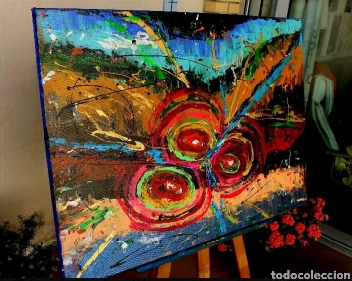 Arte: Cuadro Abstracto Rovira Rusiñol (Recoger en tienda) - Foto 2 - 209332430
