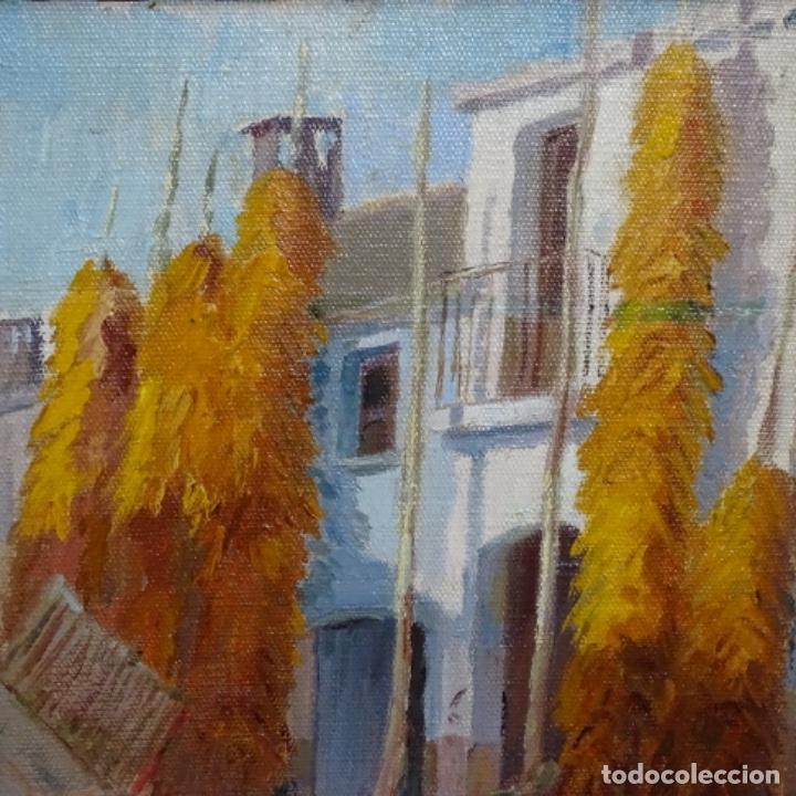 Arte: Óleo sobre tablex de Francesc planas doria (Sabadell 1879-1955). - Foto 3 - 209367582