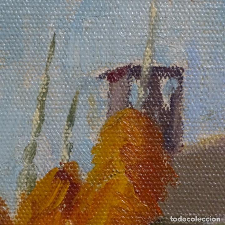 Arte: Óleo sobre tablex de Francesc planas doria (Sabadell 1879-1955). - Foto 11 - 209367582