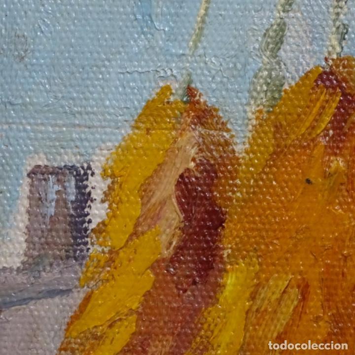 Arte: Óleo sobre tablex de Francesc planas doria (Sabadell 1879-1955). - Foto 12 - 209367582