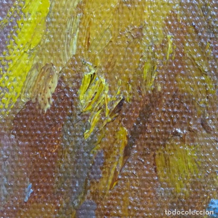 Arte: Óleo sobre tablex de Francesc planas doria (Sabadell 1879-1955). - Foto 13 - 209367582