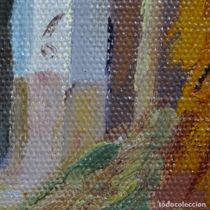 Arte: Óleo sobre tablex de Francesc planas doria (Sabadell 1879-1955). - Foto 15 - 209367582