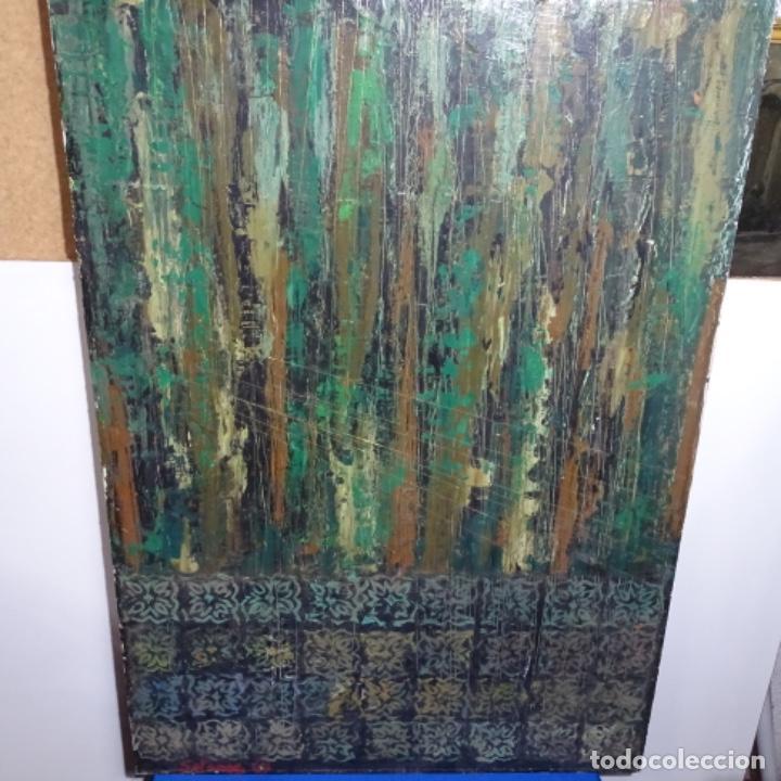 GRAN OLEO SOBRE TABLA FIRMADO SOTEPAS 67.VI CONCURSO PINTURA TERRASSA. (Arte - Pintura - Pintura al Óleo Contemporánea )
