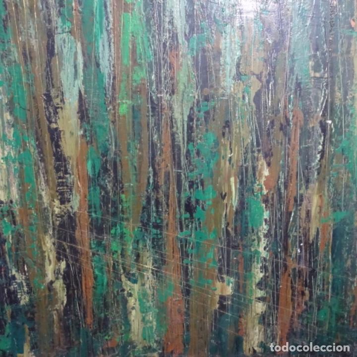 Arte: Gran oleo sobre tabla firmado sotepas 67.vi concurso pintura Terrassa. - Foto 2 - 209390975