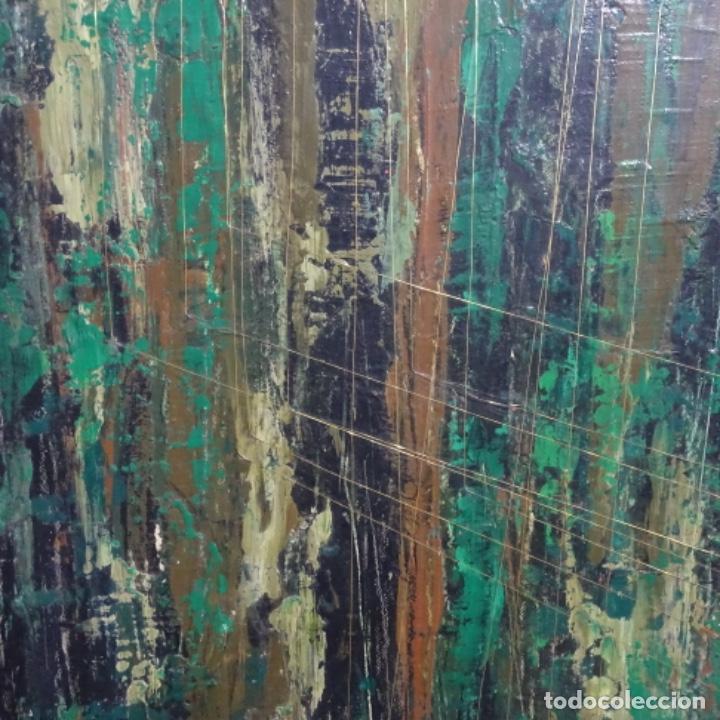 Arte: Gran oleo sobre tabla firmado sotepas 67.vi concurso pintura Terrassa. - Foto 4 - 209390975