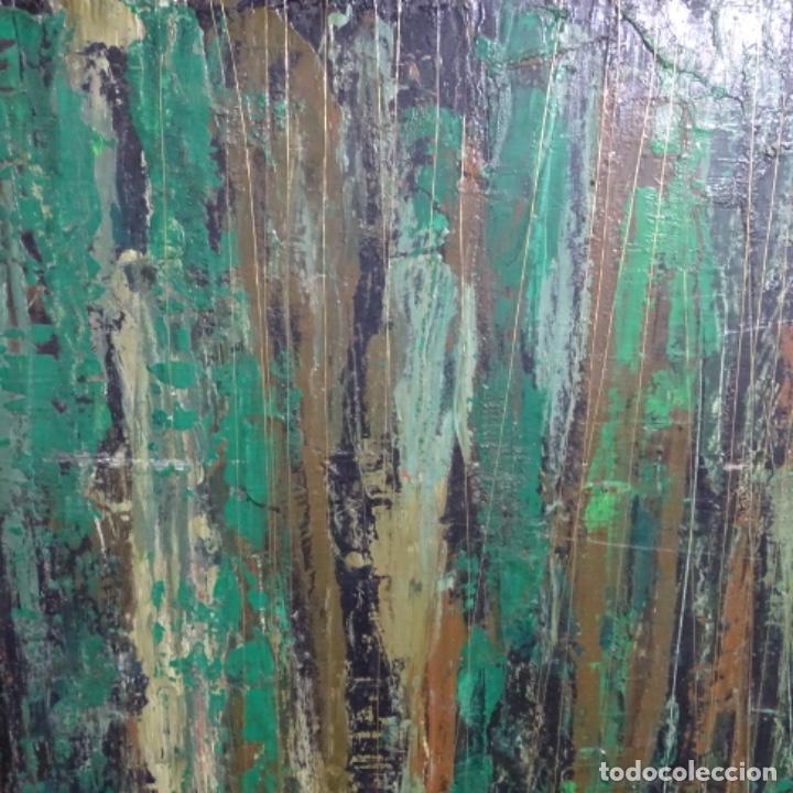 Arte: Gran oleo sobre tabla firmado sotepas 67.vi concurso pintura Terrassa. - Foto 5 - 209390975