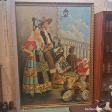 Arte: ÓLEO ACUEDUCTO ROMANO. Lote 209655353