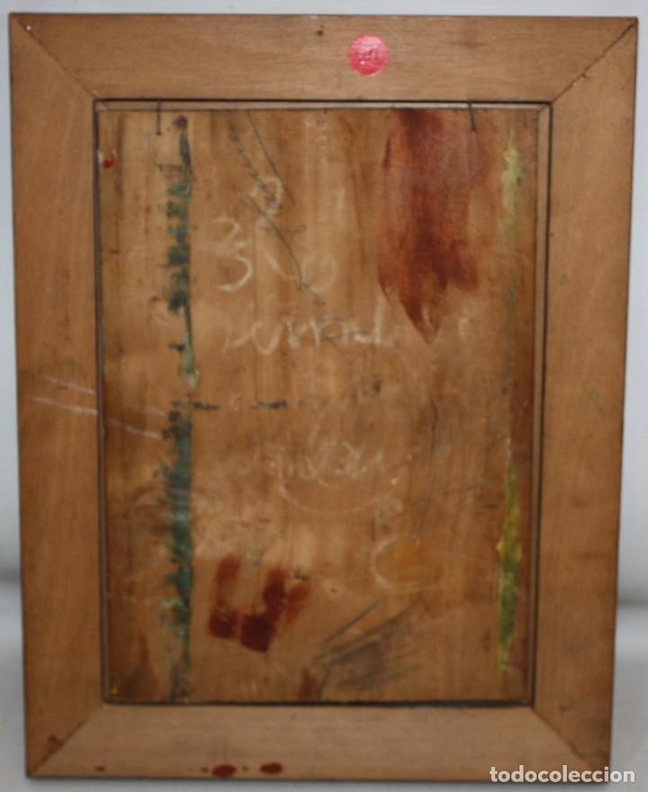 Arte: AUTORIA DESCONOCIDA DE APROXIMADAMENTE 1900. OLEO SOBRE TABLA. PAISAJE - Foto 8 - 209724507