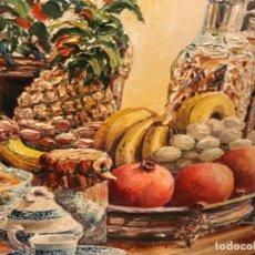 Arte: BODEGÓN ÓLEO DE A. BERNEJO 2002. FIRMADO.. Lote 209802356