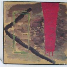 Arte: MANUEL BARNUEVO. TÍTULO: SIN TÍTULO (1990). ÓLEO SOBRE LIENZO FIRMADO. Lote 210076071