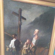 Arte: ÓLEO SOBRE LIENZO. SIGLO XVIII. XIX.. Lote 210079177