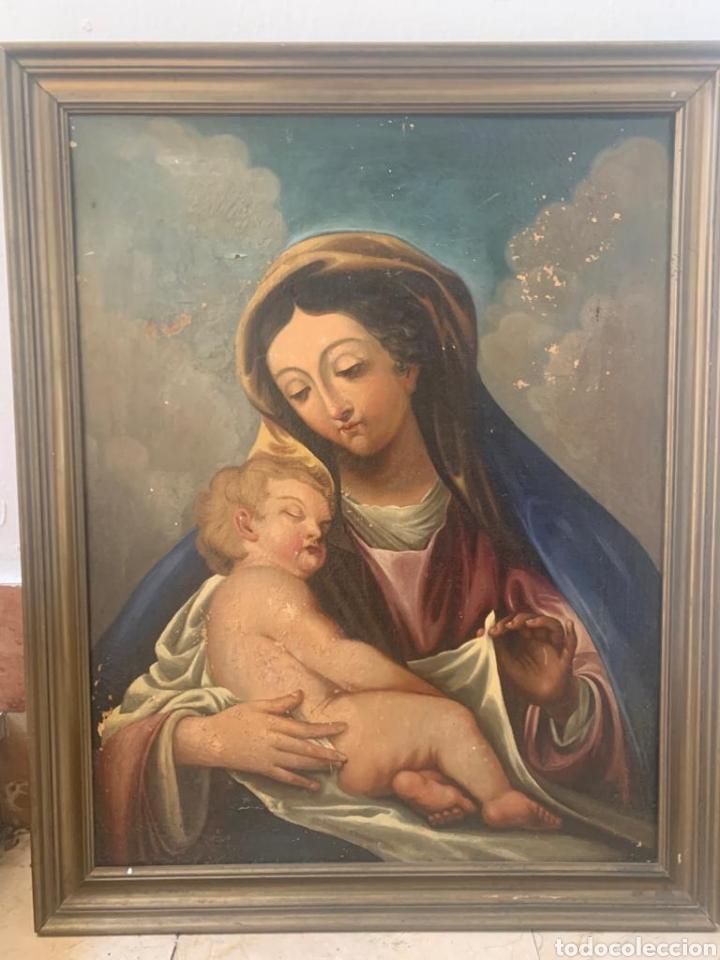ANTIGUO CUADRO (Arte - Pintura - Pintura al Óleo Antigua siglo XVIII)