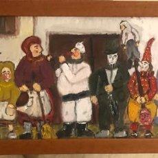 Arte: FESTA DE PUEBLO SARDINAS. Lote 187455176