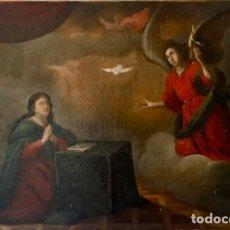 Arte: ESCUELA PIAMONTESA DEL SIGLO XVI-XVII. LA ANUNCIACIÓN.. Lote 210164348
