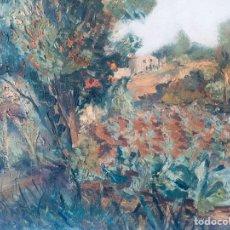 Arte: CIRCULO DE CÉZANNE. CAMPOS IMPRESIONISTAS. SIGLO XIX. Lote 210205760