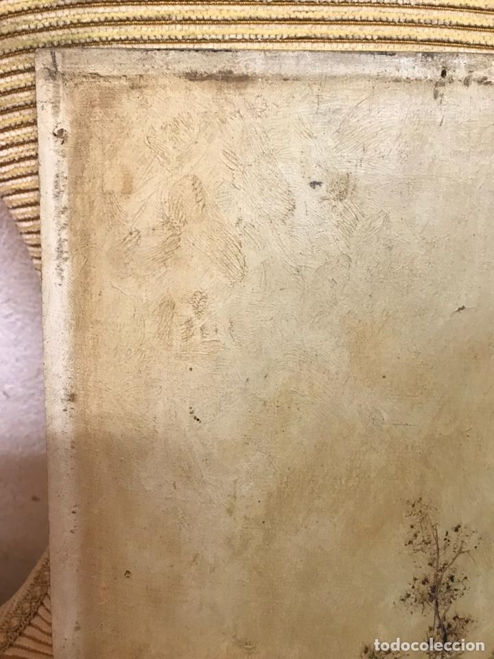 Arte: Pintura al óleo sobre tabla firmada por MERTIL con fecha en el año 1891 - Foto 3 - 210218401