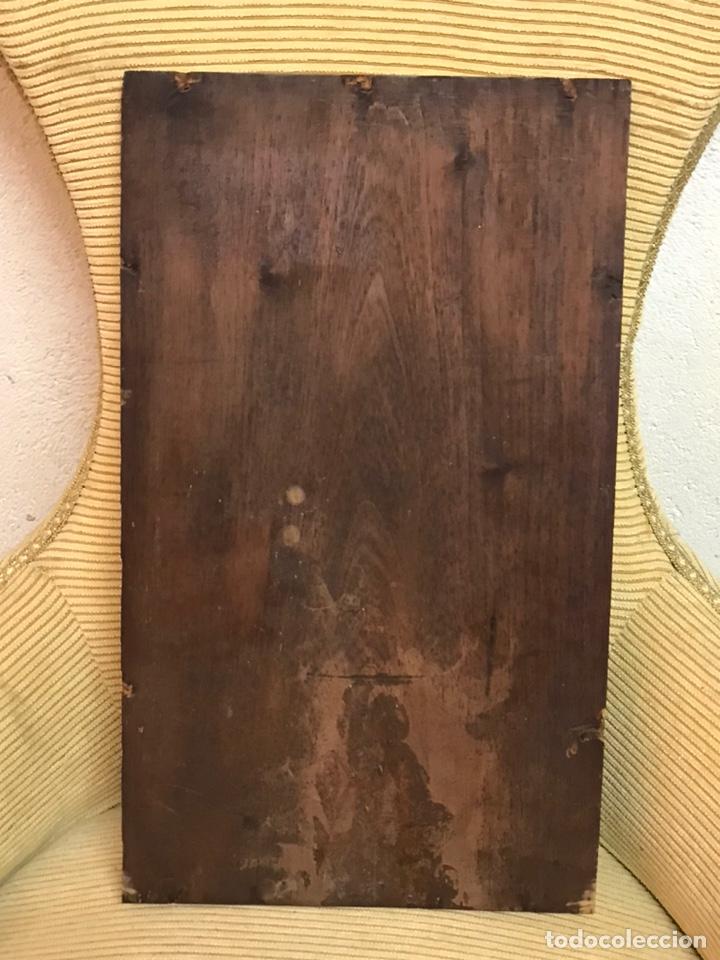 Arte: Pintura al óleo sobre tabla firmada por MERTIL con fecha en el año 1891 - Foto 22 - 210218401