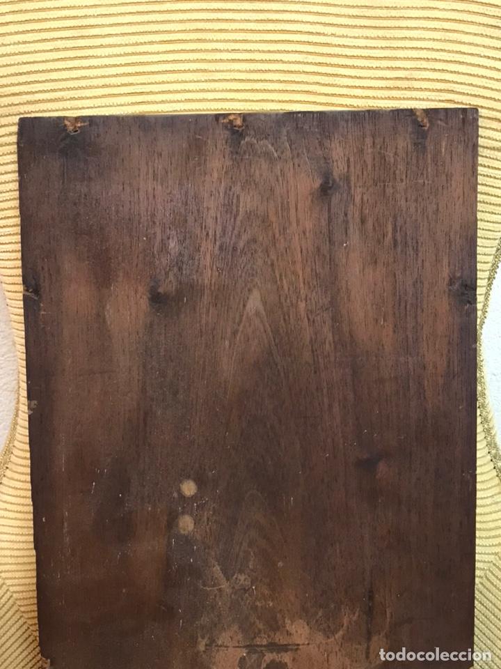Arte: Pintura al óleo sobre tabla firmada por MERTIL con fecha en el año 1891 - Foto 23 - 210218401