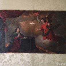 Arte: ESCUELA ITALIANA (NAPOLITANA) DEL SIGLO XVI. ANUNCIACIÓN.. Lote 210228933