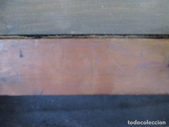 Arte: pintura al oleo sobre lienzo,atribuido a lopez mezquita,perteneciente a una conocida coleccion - Foto 21 - 210454021
