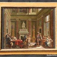 Arte: ANTICO DIPINTO DEL XVII SECOLO SCUOLA OLANDESE. Lote 210464505