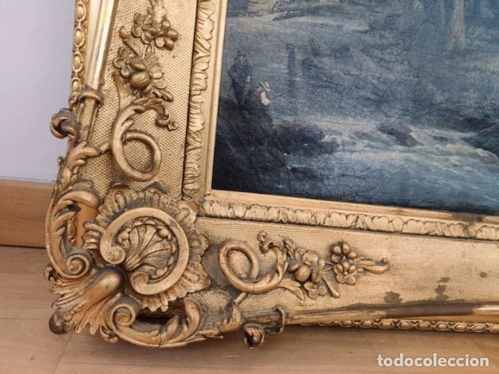 Arte: ESCUELA HOLANDESA PAISAJE s. XVIII - XIX ( ARTE - CUADRO - PINTURA - ÓLEO ) - Foto 2 - 210556393