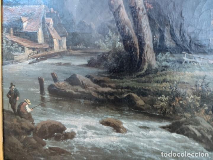 Arte: ESCUELA HOLANDESA PAISAJE s. XVIII - XIX ( ARTE - CUADRO - PINTURA - ÓLEO ) - Foto 4 - 210556393