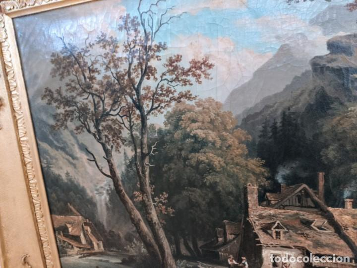 Arte: ESCUELA HOLANDESA PAISAJE s. XVIII - XIX ( ARTE - CUADRO - PINTURA - ÓLEO ) - Foto 7 - 210556393