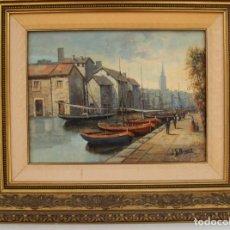 Arte: BUONO LEON GIUSEPPE (ITALIA 1887-1975) OBRA OLEO/LIENZO MED 40 X 30 CM FIRMADO TESTAMENTARIA CONSUL. Lote 210566733