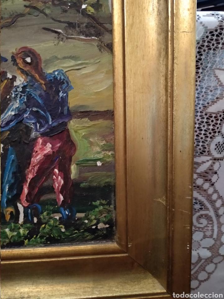 Arte: Antiguo cuadro al óleo - Foto 7 - 210611115